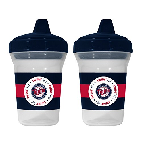 MLB Minnesota Twins Sippy Cups, 2-Pack