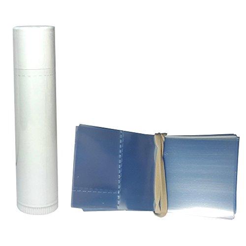 Lip Balm Shrink Band Fits Chapstick Style Lip Balm Tubes Bundle of 500