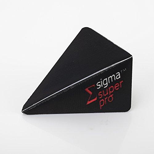 5 x Sets Unicorn Sigma Super Pro Black Dart Flights