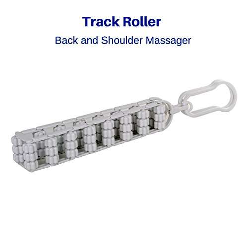 Biosincron Track Roller Back Massager | Neck Massager | Shoulder Massager | Back Pain Relief Device |Trigger Point Therapy Roller
