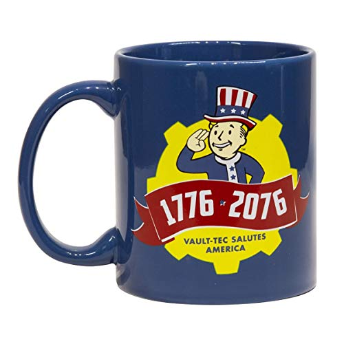 Fallout Collectibles | Fallout 76 Tricentennial Ceramic Coffee Mug | 11 oz