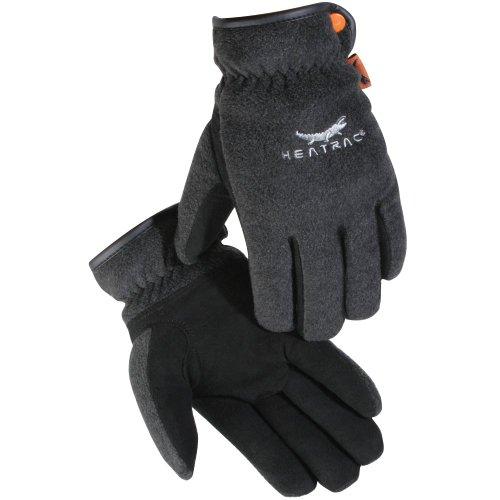 UPC 710927239536, Caiman New Black Deerskin Palm, Fleece Back, Heatrac Insulated Small