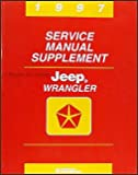 jeep wrangler service manual - 1997 Jeep Wrangler Service Manual Supplement (Chrysler Corp., 81-370-7148A)