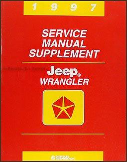 1997 Jeep Wrangler Service Manual Supplement (Chrysler Corp., 81-370-7148A) (1989 Supplement)