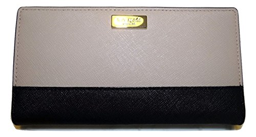 Kate Spade Stacy Newbury Lane Wallet (Mousse Frosting/Black)