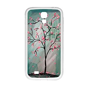 Unique pink tree Cell Phone Case for Samsung Galaxy S4