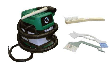 マキタ製車内掃除機 車内用洗車ブラシ セット 掃除機早掛けセット マキタM442 カーペットブラシ すきま&目地ブラシ MAKITA掃除機 B07F1HJGLZ