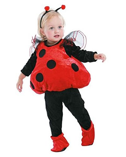 Totally Ghoul Ladybug Vest Baby Toddler Halloween Costume