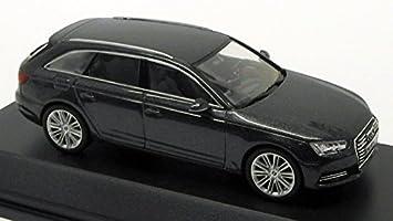 Original Audi A4 8w Avant Coche A Escala 1 43 Modelo 2015 Gris