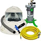 507103-PCT T100 Respirator Package W/ Cold Air Tube, Airline Filter & 50' Breathing Air Supply Hose