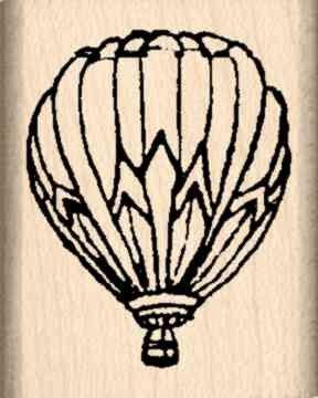 hot air balloon stamp - 5