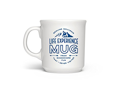 Fred 5228631 SAY ANYTHING Ceramic Coffee Mug, 16-Ounce, Life Adventures