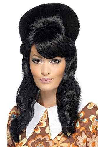 Smiffys Women's 60's Beehive Wig, One Size, Brigitte Bouffant Wig, 41410 -
