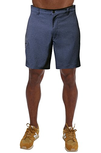 PULI Boy Beach Pleated Shorts Quick Drying Swimming Pants Blue S 30