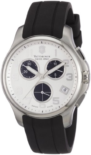 Victorinox Swiss Army Men's 241454 Officer's Chrono Rubber Watch