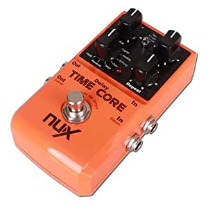 nux time core 7 delay effects guitar effect pedal musical instruments. Black Bedroom Furniture Sets. Home Design Ideas