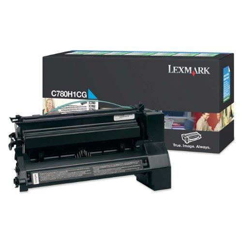(Lexmark C780H1CG Return Program High Yield Cyan Toner Cartridge)