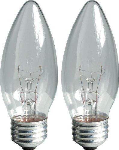 GE Lighting 12993 40 Watt Crystal