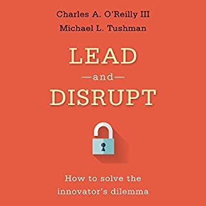 Lead and Disrupt Audiobook