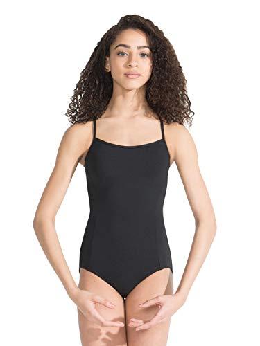 Capezio Meryl Strappy Back Camisole Leotard - Size X-Large, Black