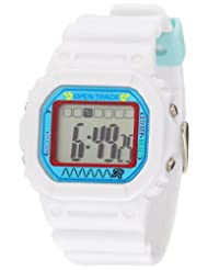 EOS New York Spencer Unisex 0T01WHT Open Track Digital White Watch