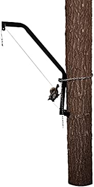 Moultrie Hanging Feeder Hoist | Chain-and-Bracket Design | 300 lb Capacity