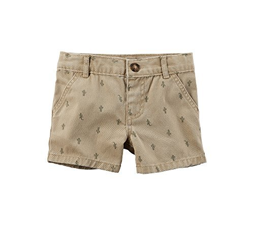 Carter's Baby Boys' Cactus Schiffli Shorts 18 Months by Carter's
