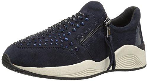 C Geox Navyc4021 Baskets Omaya Femme Basses D dk Blau rq1wEOr