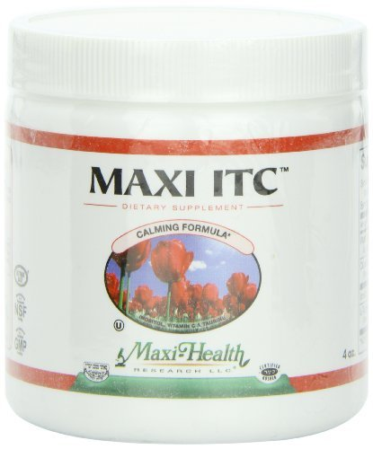 maxi-health-itc-inositol-with-taurine-and-vitamin-c-calming-formula-4-ounce-powder-kosher-by-maxi