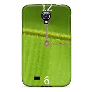 Durable Leaf Clock Back Case/cover For Galaxy S4