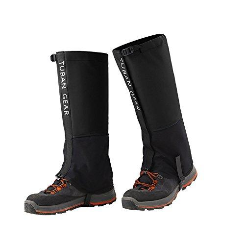 AMYIPO-Unisex-Snow-Leg-Front-Opening-Velcro-Design-Gaiter-Hiking-Boots-Gaiters-Waterproof-Gaiters