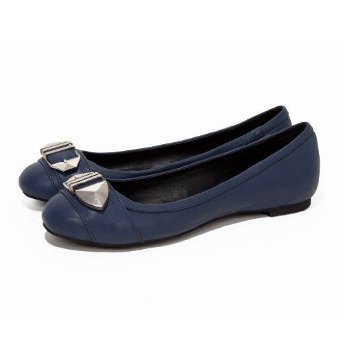 MILA Ballet Flats - Ballet Flat Shoes - Flats for Women - Leather Flats - Flat Shoes Navy aLqTUKtS