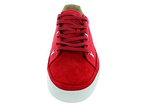 Plumas furgonetas Lasdun zapatillas de deporte, rojo / blanco Red/White