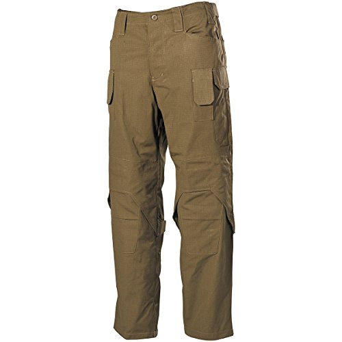 MFH Hommes Mission Combat Pantalon Ripstop Coyote taille M