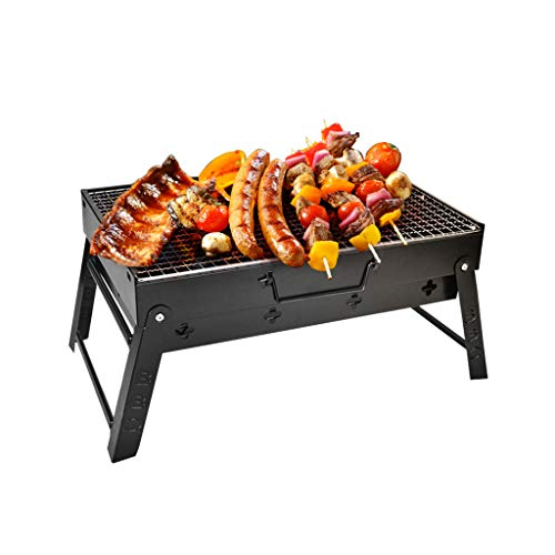Amazon.com: Charcoal Grill Barbecue Portable BBQ - Stainless ...