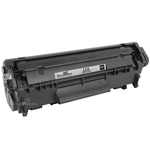 Speedy Inks - Remanufactured Replacement for HP 12A Q2612A Black Laser Toner Cartridge for use in HP LaserJet 1012, 3015, 3020, 3030, 1010, 1020, 1022, 1022n, 1022nw, 1018, 3050, 3052, 3055, M1319