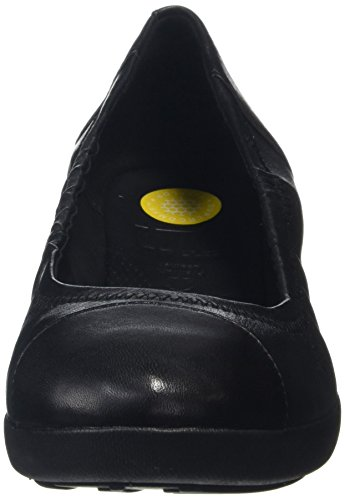 Negro Ballerina para All Fitflop Bailarinas Leather F Pop Mujer Black 7x6qZT0w