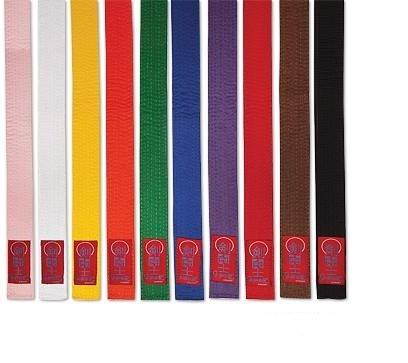 Proforce Gladiator Double Wrap Karate Belts-YELLOW #0
