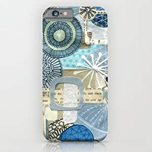Blue Collage Diy For Iphone 4/4s Case Cover Case by Jennifer Judd-mcgee