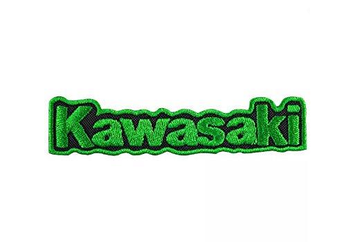 MAREL Patch KAWASAKI MOTO RACING toppa termoadesiva ricamo cm 9, 7 x 2 replica-1270