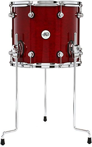 DW Design Series Floor Tom - 12 Inches X 14 Inches Cherry Stain by DW