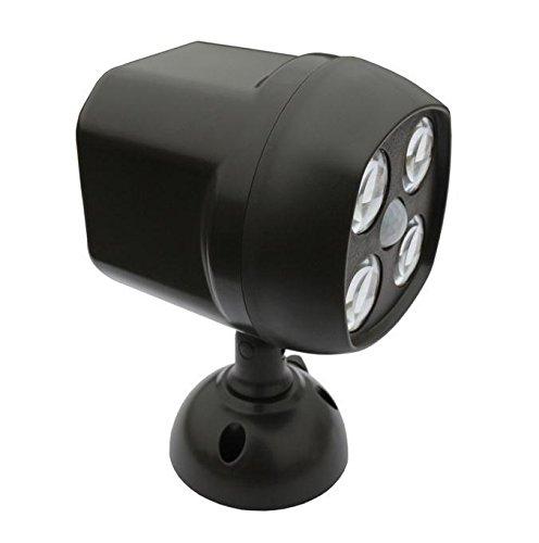 Led Outdoor Light Too Bright: DuaFire Motion Sensor Spotlight Wireless Weatherproof 4