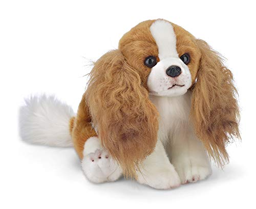 Bearington Sadie Cavalier King Charles Spaniel Plush Stuffed Animal Puppy Dog, 13 - Plush Cavaliers