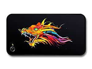 Color Dragon Illustration case for iPhone 4 4S by runtopwell
