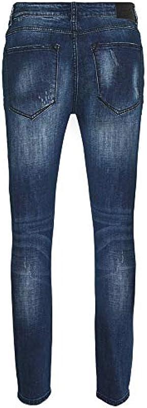 Kings Will Dream Oscar Carrot Skinny Stretch Jeans Rip & Repair Jeans: Odzież