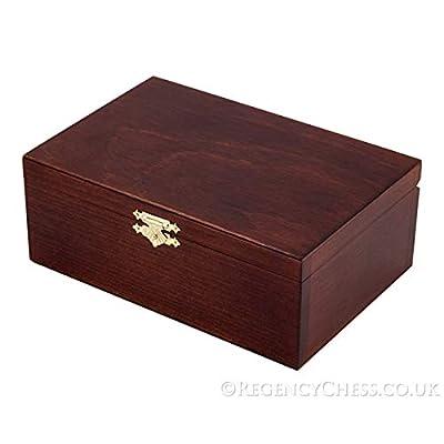 Regencychess Number 5 Birch Wood Chess Piece Case Dark