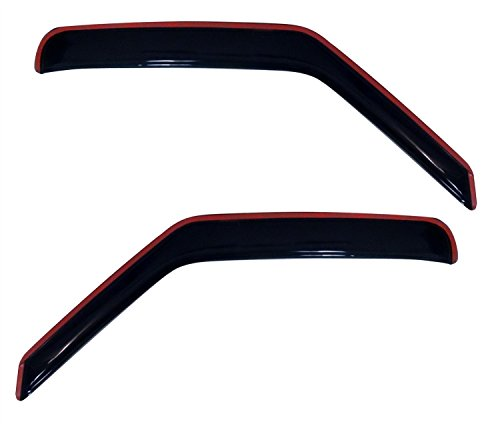 (Auto Ventshade 192141 In-Channel Ventvisor Side Window Deflector, 2-Piece Set for 2007-2014 Ford E-150, E-250, E-350 & E-450 Super)