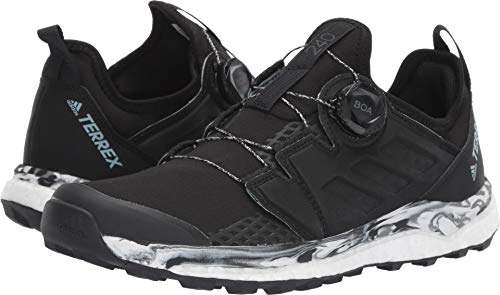 - adidas outdoor Terrex Agravic Boa Womens Trail Running Shoes, Black/Non-Dyed/Carbon, 7.5