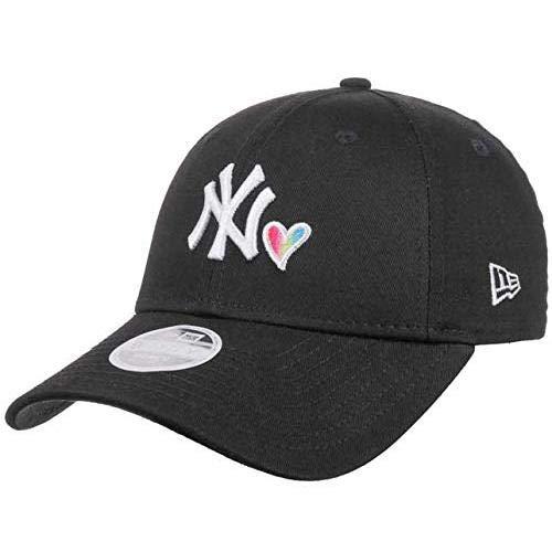New Era Rainbow Heart 9Forty Damen Adjustable Cap NY Yankees Schwarz
