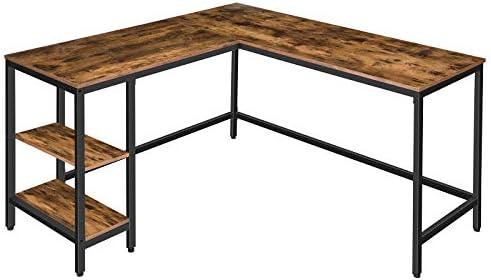 HOOBRO L-Shaped Computer Desk Review